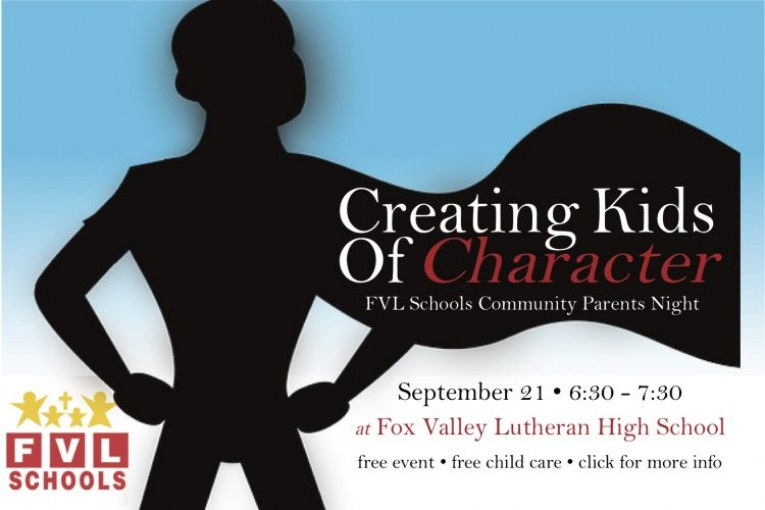 Creating Kids of Character
