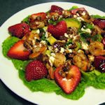 Strawberry Shrimp Salad