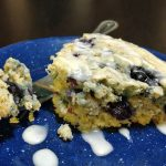 Blueberry Oat Muffin Cake