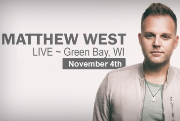 Matthew West Coming to Green Bay on November 4, 2017!