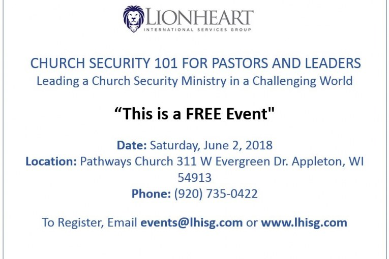 Church Security 101 Free Event