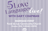 Gary Chapman-Live-5 Love Languages