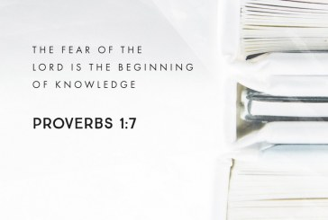 August 13th – Proverbs 1:7