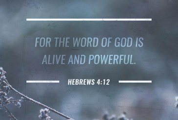 August 27th – Hebrews 4:12